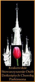 KRAKOWSKIE STOWARZYSZENIE OSÓB DOTKNIĘTYCH CHOROBĄ PARKINSONA IMIENIA ŚWIĘTEGO JANA PAWŁA II WIELKIEGO Logo